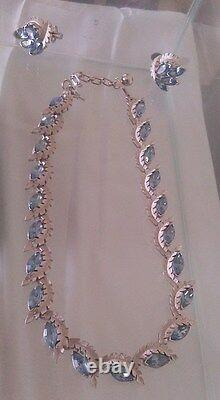 Gorgeous Crown Trifari Alfred Philippe Fruit Salad Necklaces And Earrings