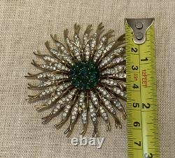 RARE CROWN TRIFARI ALFRED PHILIPPE VINTAGE Brooch Pin