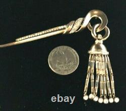 RARE Crown Trifari Alfred Philippe Rhinestone Dangles Brooch Sterling Silver