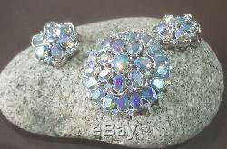 Rare & Stunning Alfred Philippe Queen Anne 1956 Crown Trifari Grand Parure Set