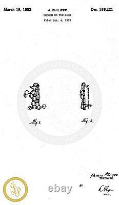 Rare Vintage Designer Signed Crown Trifari Alfred Philippe Poodle Dog Brooch