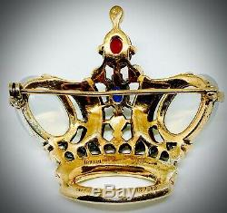 Sterlingcrown Trifarijellybelly Moonstonebrooch Pinalfred Philippe