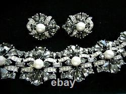 Stunningcrown Trifari Alfred Philippe Jewels Of India Moghul Bracelet Set Tb06