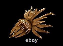 TRIFARI Alfred Philippe Vintage Thistle Brooch/Pin U. S. Mid 20th Century