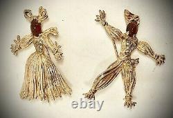 Trifari Alfred Philippenanette&rintintinred Pom Rag-dollssterling Brooch