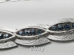 VINTAGE 60's CROWN TRIFARI ALFRED PHILIPPE DEMI PARURE PIN NECKLACE BRACELET SET