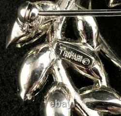 Vintage Crown TRIFARI Alfred Philippe Pastel Navettes Wreath Brooch Pin c1955