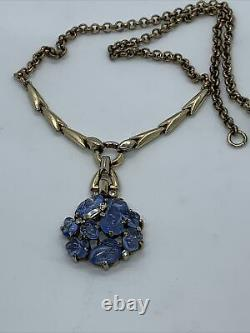 Vintage Rare Crown Trifari Necklace By Alfred Philippe