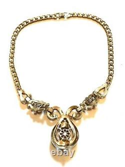 Vintage Trifari Moghul Scherazade Alfred Philippe Necklace Jewels of India